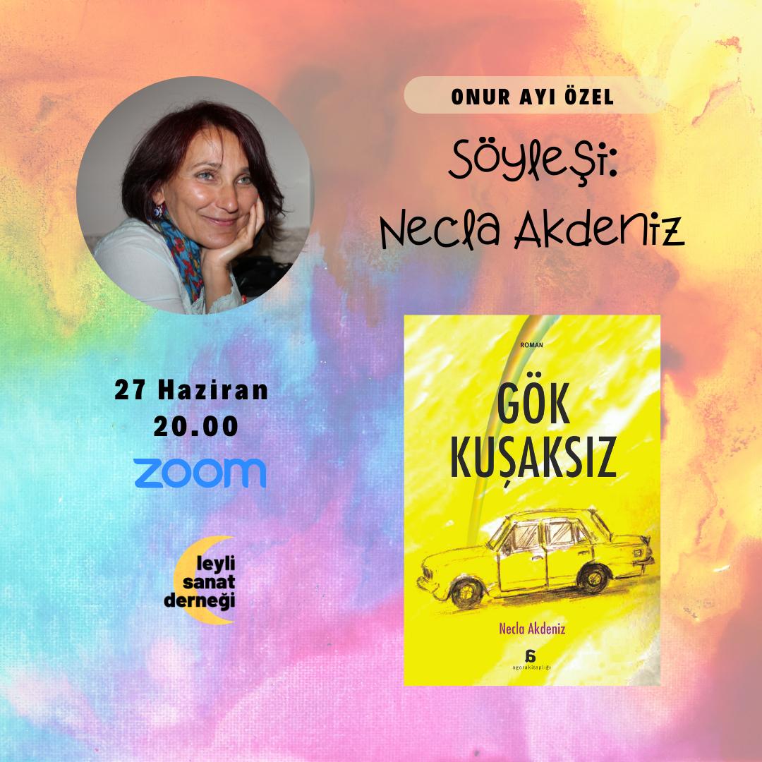 Necla Akdeniz - Söyleşi Etkinliği